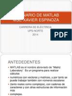 INTRODUCCIÓN AL CURSO DE MATLAB 1