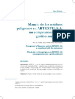 Manejo de los residuos peligrosos en ARTEXTIL S.A. un compromiso con la gestión ambienta.pdf