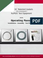 2014-1 KaMOS Gasket & Test Equipment - Operating Manual