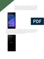 El Sony Xperia M2 es un Smartphone con un Procesador Qualcomm Snapdragon quad.docx
