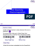 2 KS4 Electricty - Electromagnetism