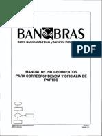 61.- Manual de Procedimientos Para Correspondencia y Oficialia de Partes