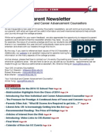 Fall 2014 UC Newsletter