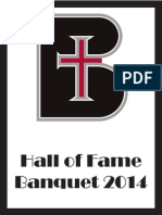 hall of fame program 2014 final