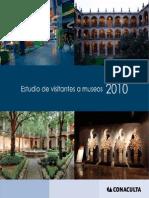 Estudio de visitantes a museos 2010