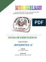 Nueva Guia Mat III 2013