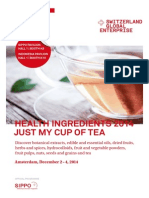 SIPPO Exhibitor Brochure_Health Ingredients 2014