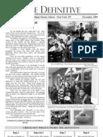 The Definitive Student Newspaper - December 2009