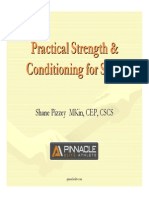 Practical Strength Conditioning for Sport