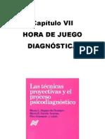SIQUIER DE OCAMPO Y OTROS. Las Técnicas Proyectivas y El Proceso Psicodiagnóstico, capitulo VII Hora de Juego Diagnóstica