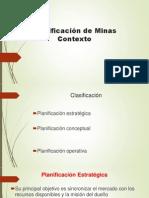 Class3 - Planificación de Minas Contexto