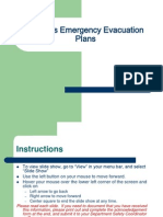 Campus Emergencies and Evacuation