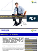 ARCHELONS Brochure Recruitment