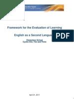 Framework of Evaluation