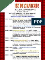 Journée de L'Unitude 09-01-2010