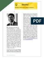 Profile Dr Dheeraj Mehrotra