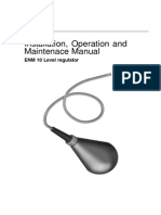Level Sensor - Installation, Operation and Maintenace Manual