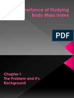 Importance of Studying Body Mass Index