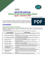 BOLETIN VIRTUAL EGB 2º SEMESTRE 2009