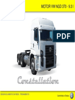 Motor VW NGD 370 - Descrição e Partes