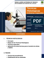 Tecnicas Histologicas Ordinarias y Especiales