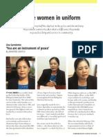 Peace Women in Uniform