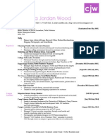 christina jordan wood resume