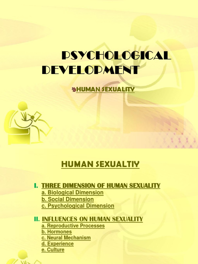 3 dimension of human sexuality