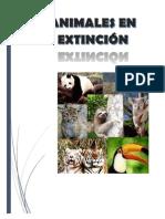 Animales en Preligro de Extincion