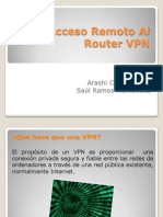 Acceso Remoto Al Router VPN