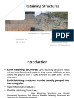 Earth Retaining Structures