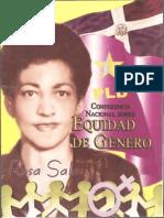 Conferencia Nacional sobre Equidad de Género Rosa Salas