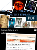 Bacardi ' s Strategies for the Indian Market