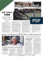 The Daily Tar Heel for Nov. 25, 2014