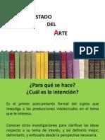 Estado Del Arte. Elemento de Protocolo de Investigacion