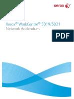 Xerox 5021 Network Addendum En