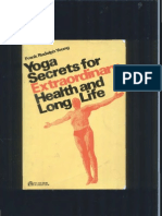 Yoga Secrets for Extraordinary Health and Long Life