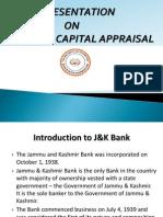 j&k bank working capital