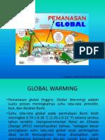 Kenaikan Suhu Air Laut Akibat Global Warming