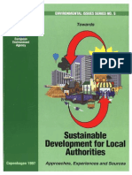 Towards Sustainable Development for Local Authorities