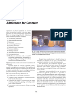 Admixture for Concrete