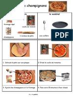 Pizza Champignons Fiche Lve