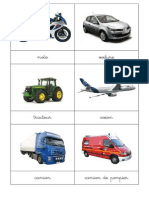 Cartes Nomenclature Vehicules 9 x 9