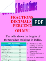 Fractions Decimals and Percents (1)