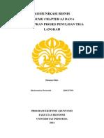 Komunikasi Bisnis Proses Penulisan Tiga Langkah(1)