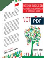 Candidaturas FETE Publica Caceres