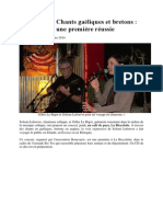 chants galiques et bretons article of