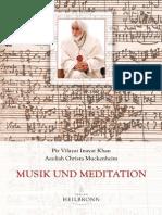 Musik Und Meditation - Leseprobe