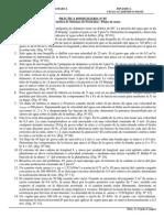 PD. Cinética de Un Sistema de Particulas.- Flujos Masicos - 2014-II