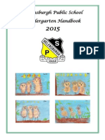 HPS Kinder Info Booklet 2015